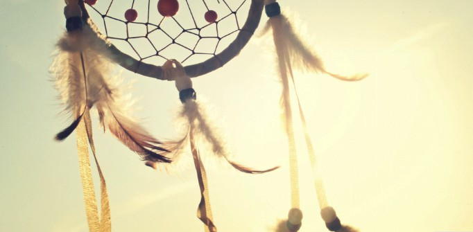 Dreamcatcher on a yellow sunny background used to showcase the dream one of our students had to become a software engineer at ToThePoint