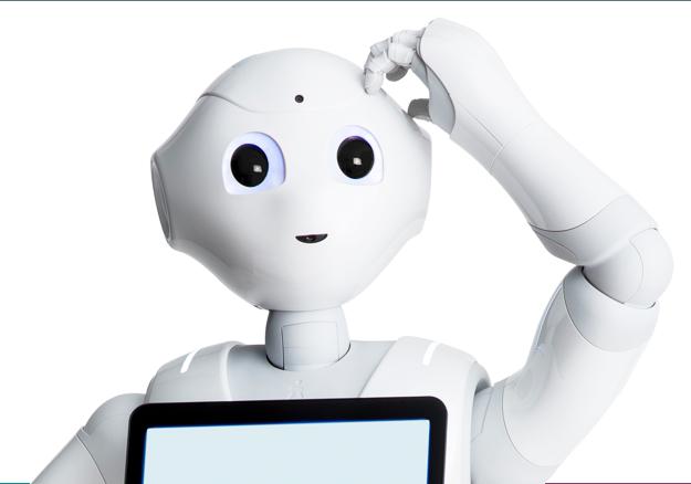 Pepper Robot by SoftBank Robotics