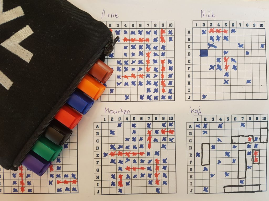Maintaining code quality while playing battleship