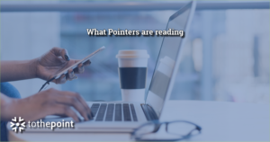 What Pointers at to the point are reading