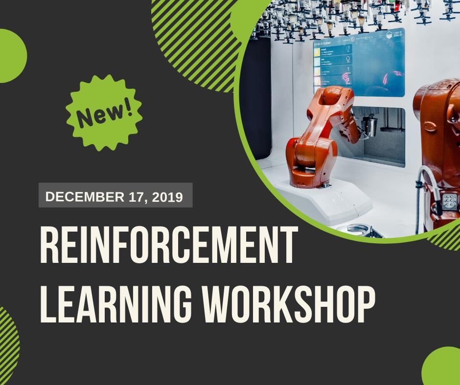 Reinforcement Learning workshop announcement by ToThePoint and The Campus the 17th of december
